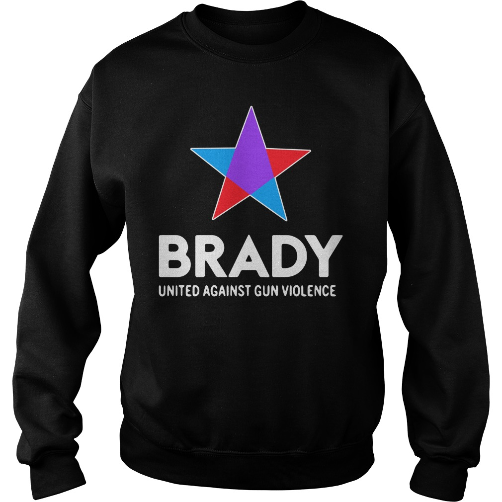 Brady united against gun violence take action not sides Sweater