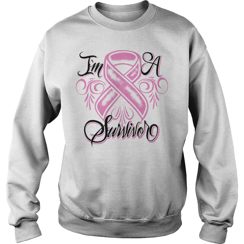Breast cancer I'm a Survivor Sweater