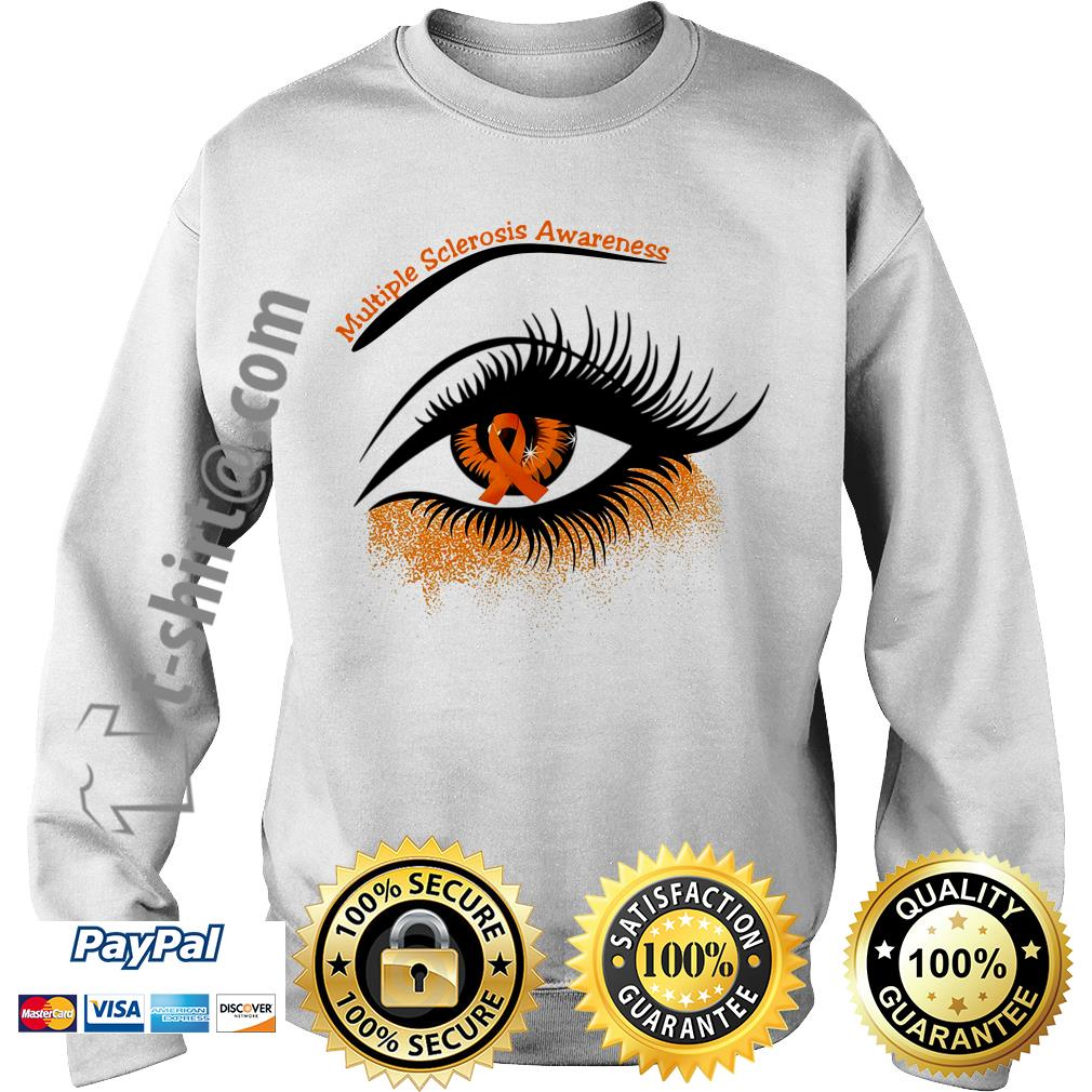 Cancer multiple sclerosis awareness in the eye Sweater