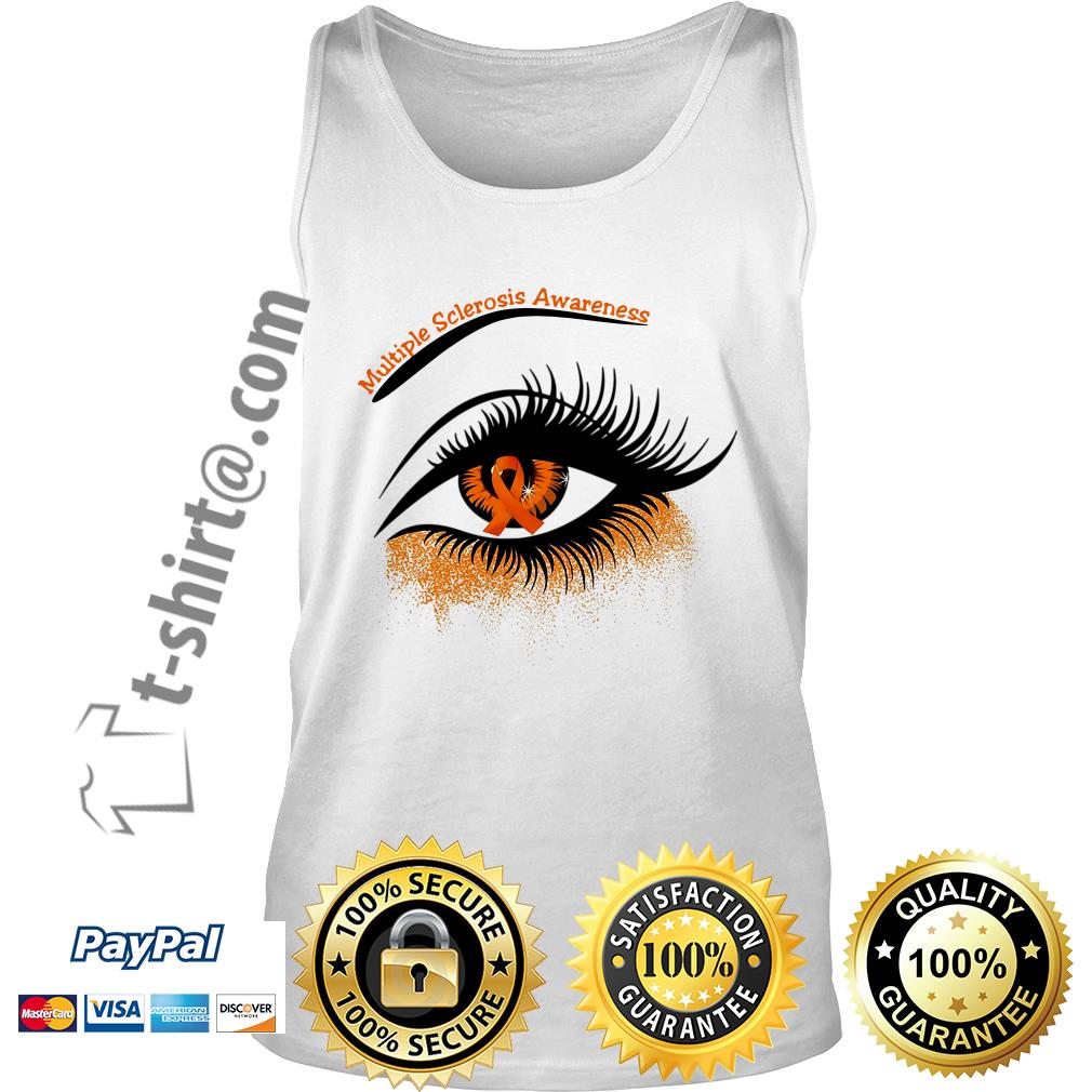 Cancer multiple sclerosis awareness in the eye Tank top