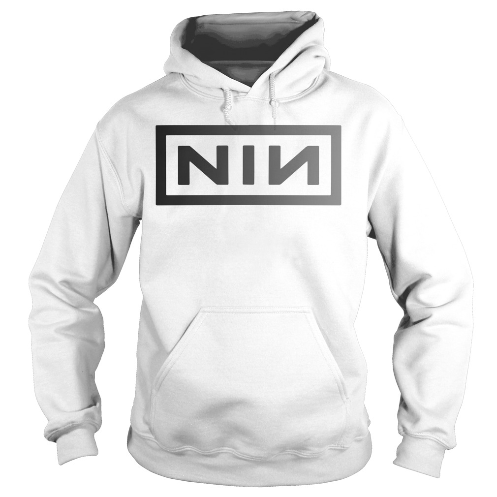 Captain Marvel Carol Danvers Nine Inch Nails Hoodie
