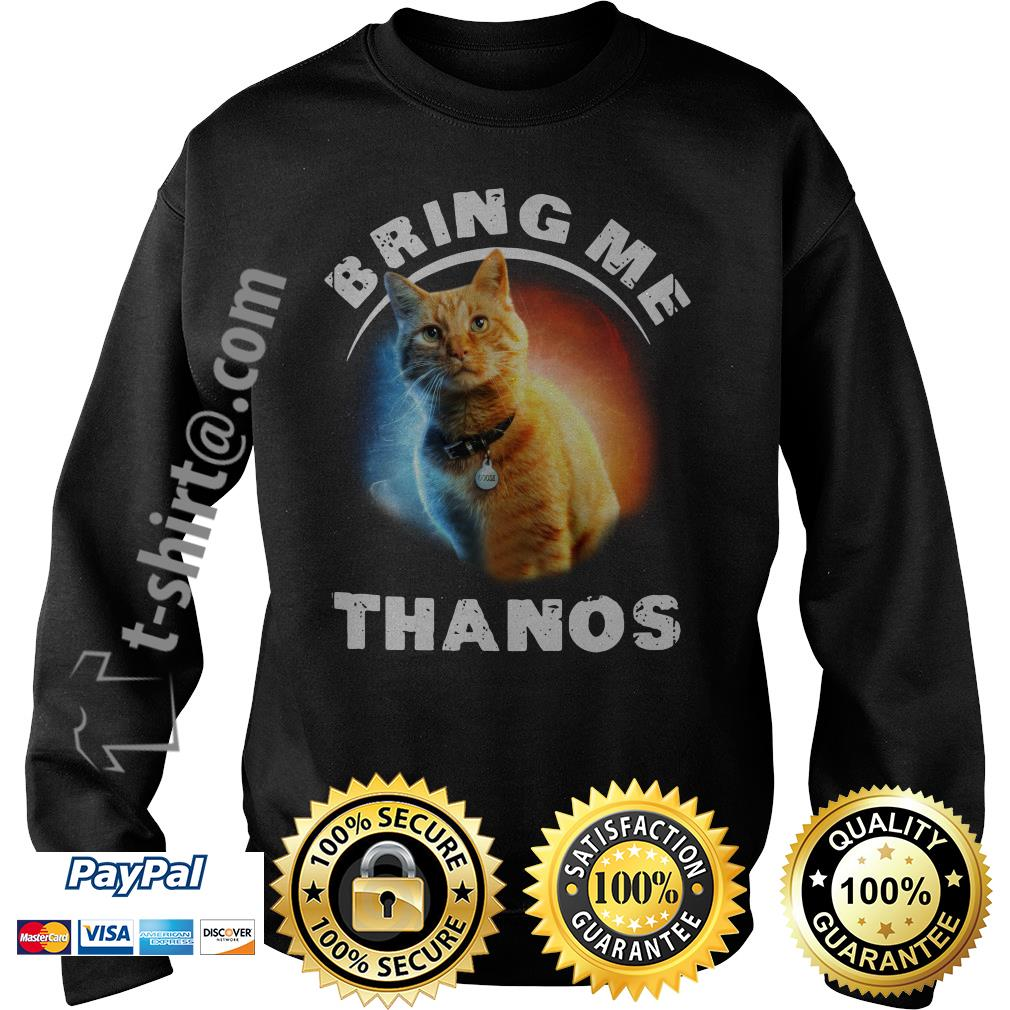 Cat bring me Thanos Sweater