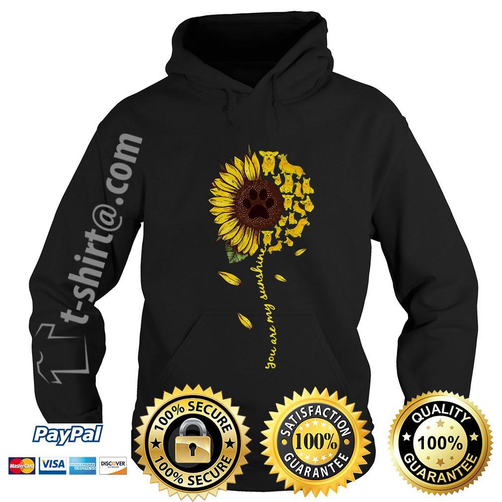 Dachshund sunflower you are my sunshine Hoodie