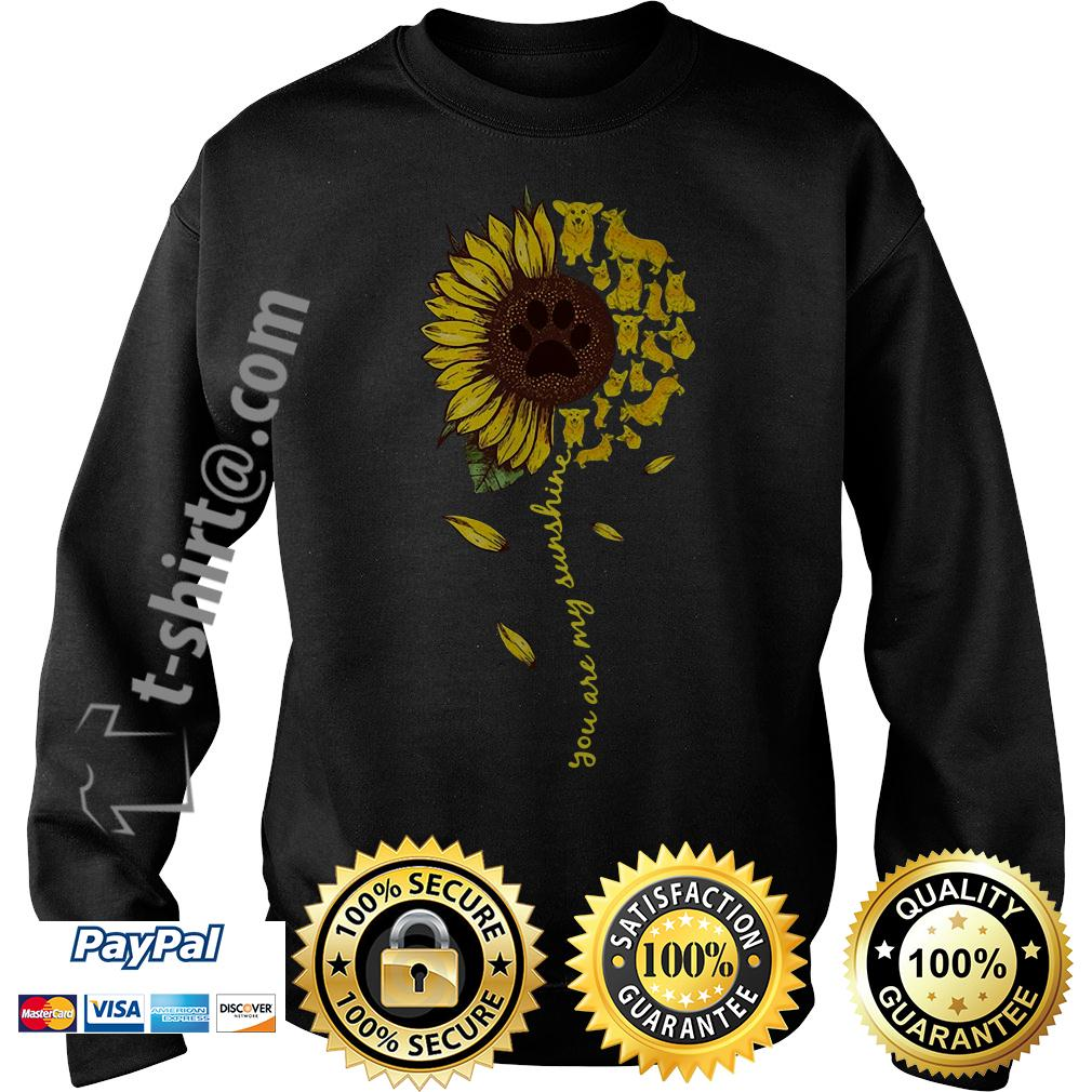 Dachshund sunflower you are my sunshine Sweater