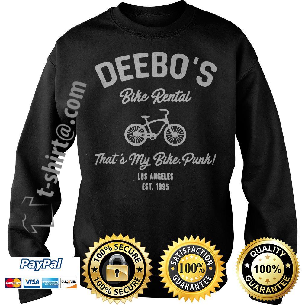 Deebo's bike rental that's my bike punk Los Angeles Est. 1995 Sweater