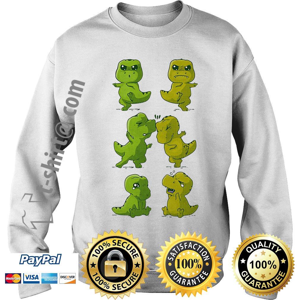 Dinosaurs T-rex fusion dance Sweater