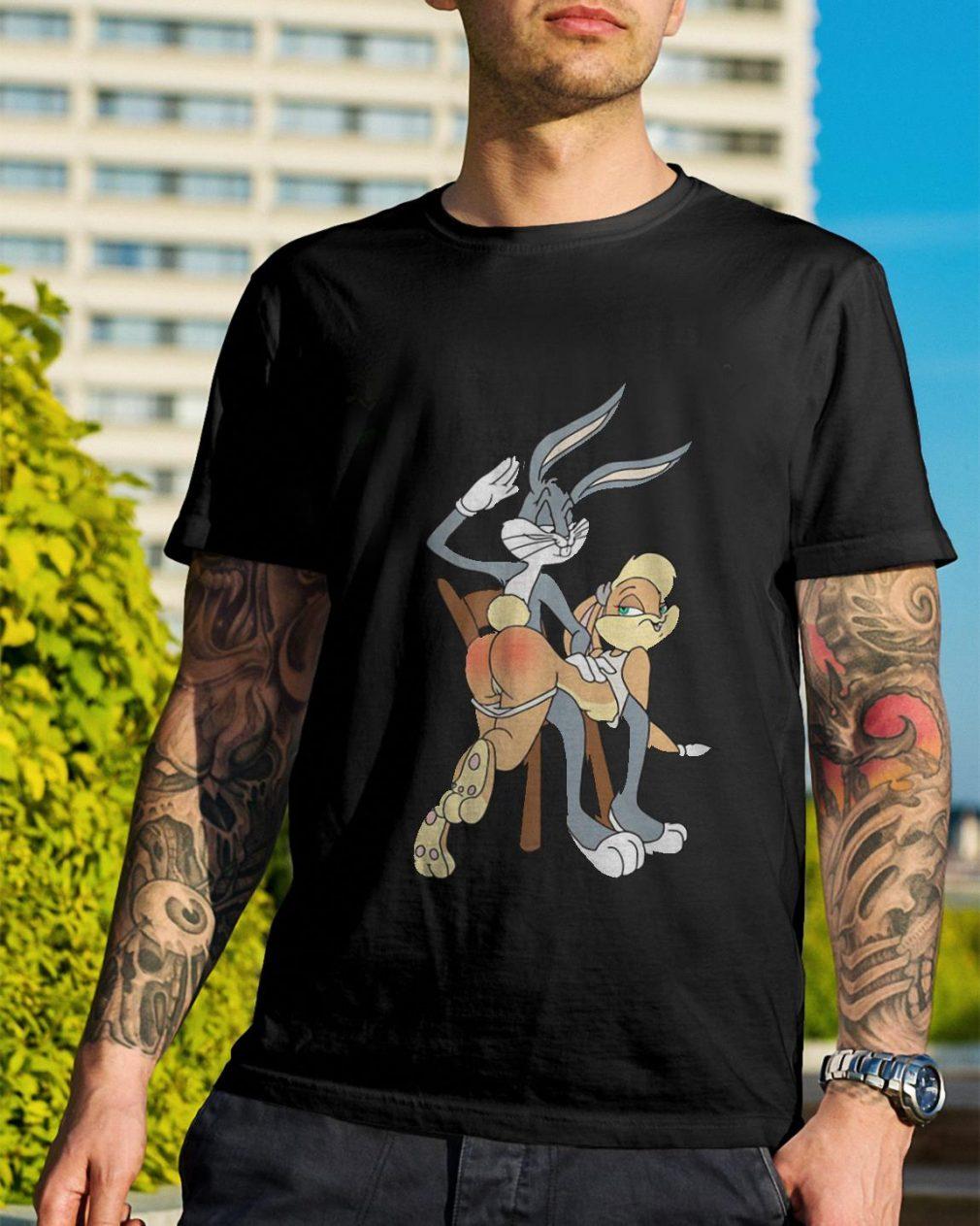 Disney Bugs Bunny and Lola sexy shirt