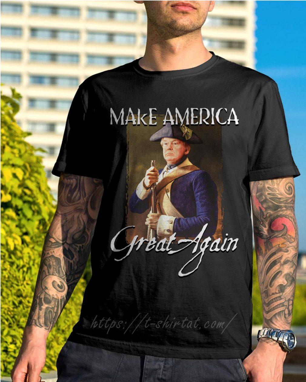 Donald Trump make america great again shirt