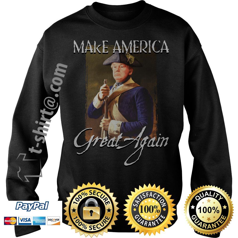 Donald Trump make america great again Sweater