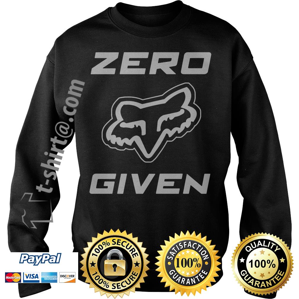 Fox Racing zero given Sweater