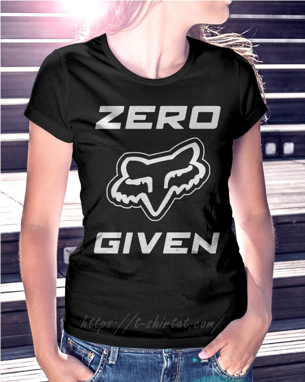 Fox Racing zero given T-shirt