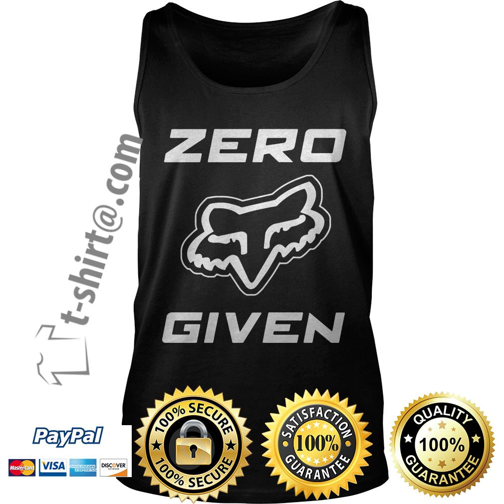 Fox Racing zero given Tank top