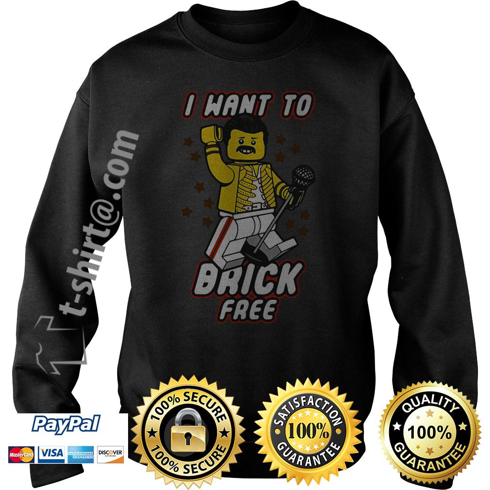 Freddie Mercury I want to break free lego Sweater