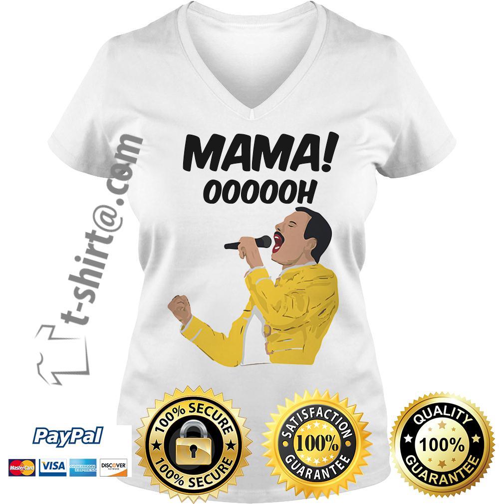 Freddie Mercury Mama oooooh V-neck T-shirt