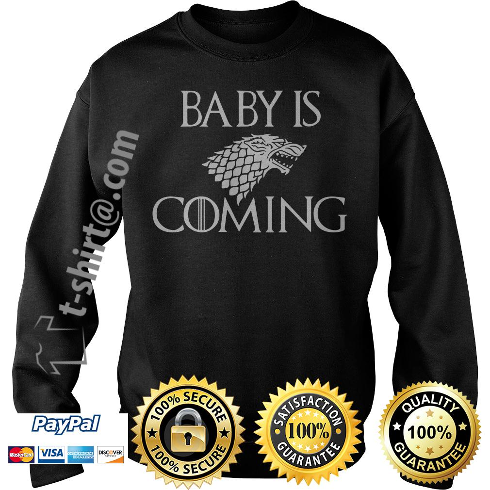 Game of Thrones baby is coming Sweater