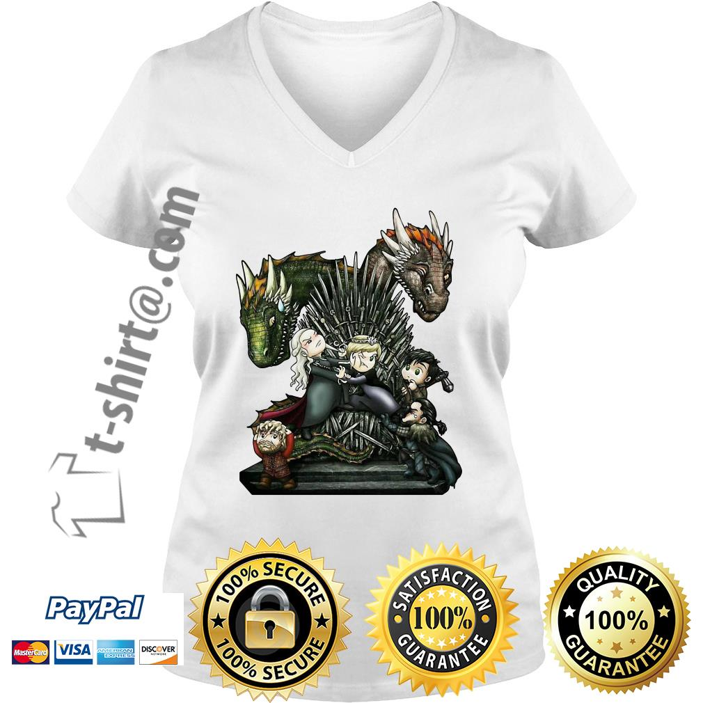 Game of Thrones vereint alle Elemente der History V-neck t-shirt
