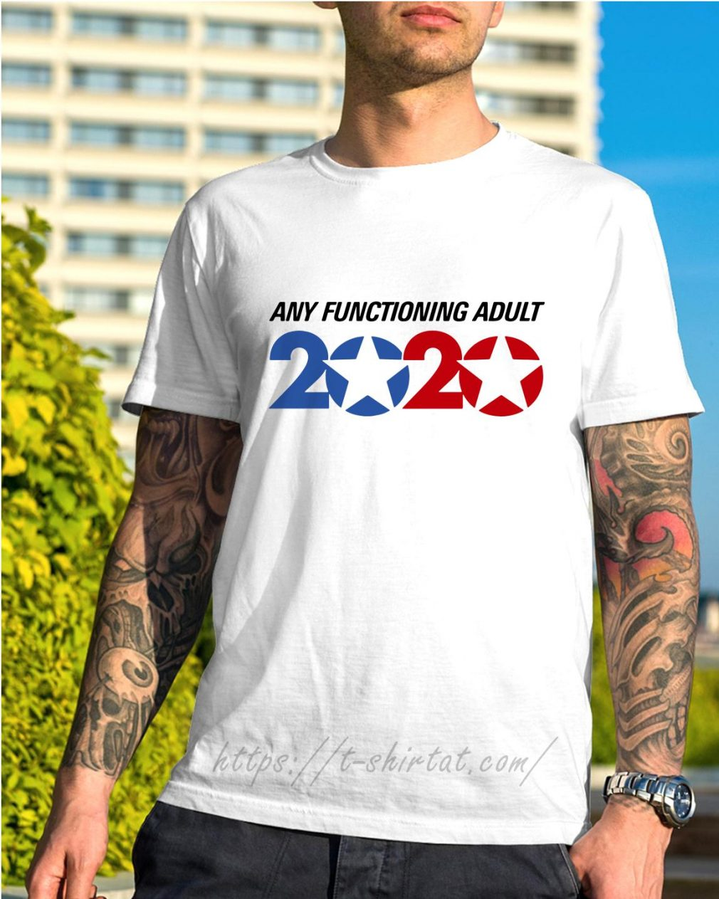 George Takei any functioning adult 2020 shirt