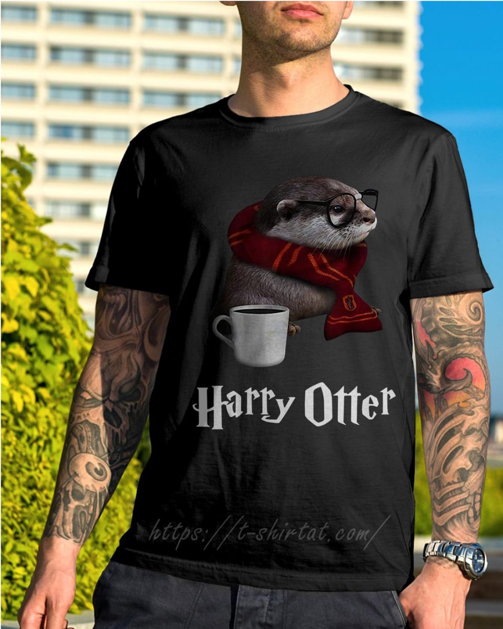 Harry Potter Harry Otter shirt