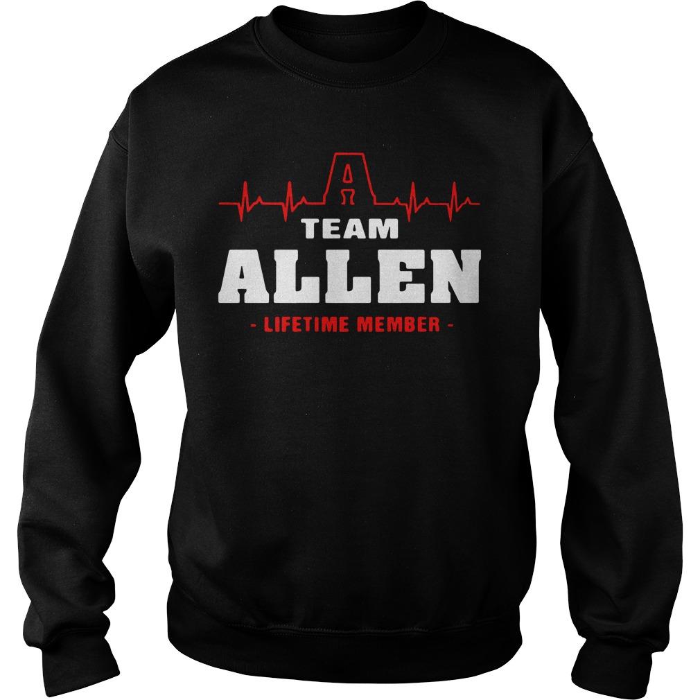 Heartbeat Allen lifetime member Sweater