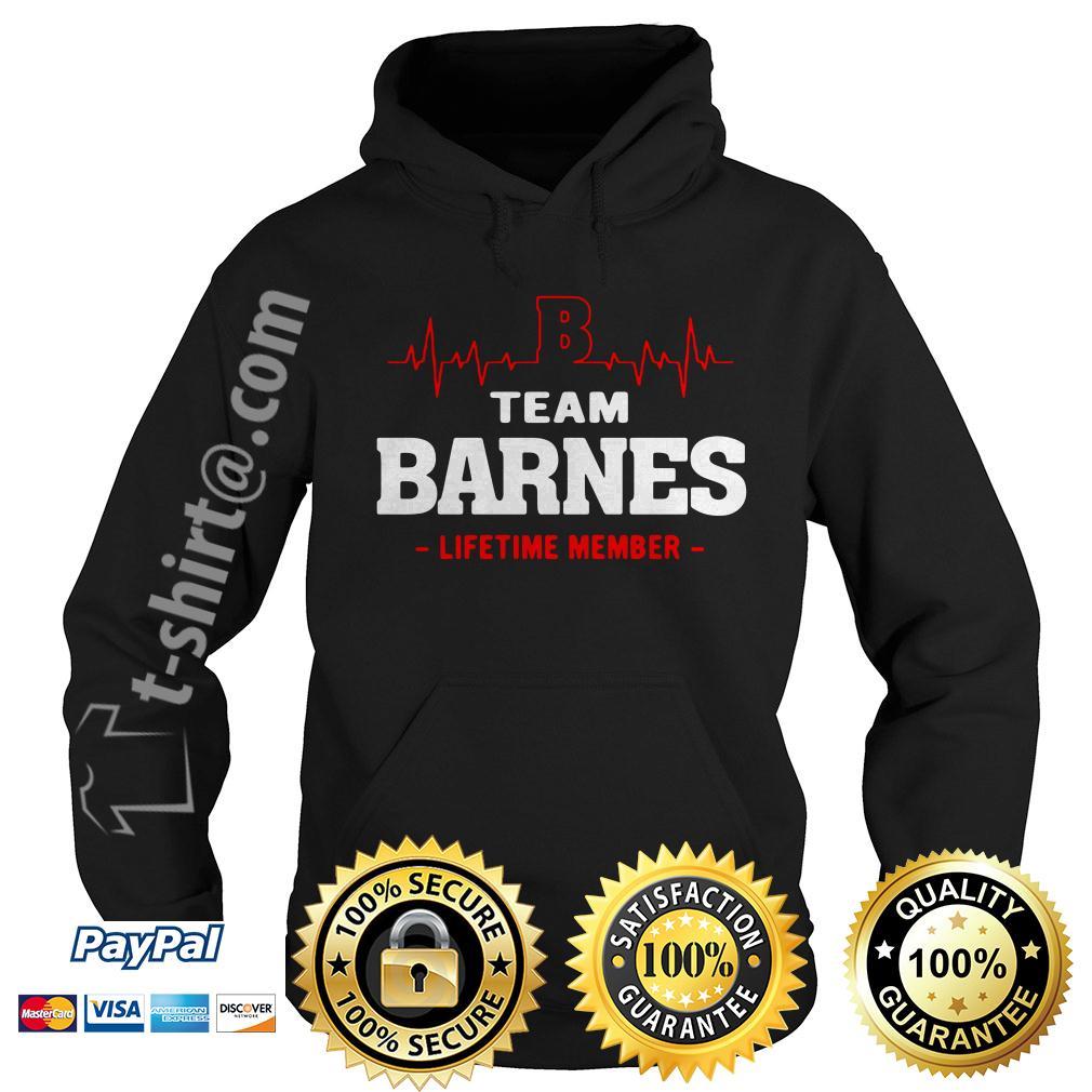 Heartbeat team Barnes lifetime member Hoodie