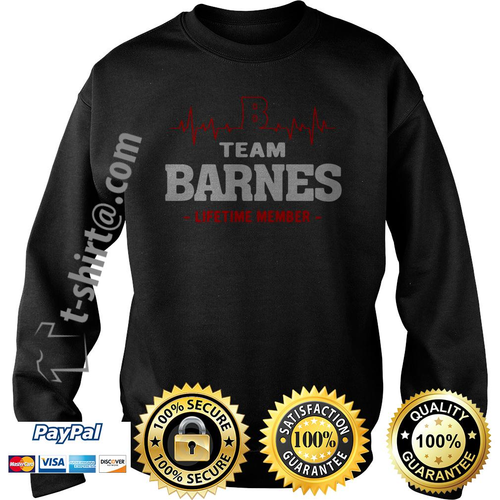 Heartbeat team Barnes lifetime member Sweater