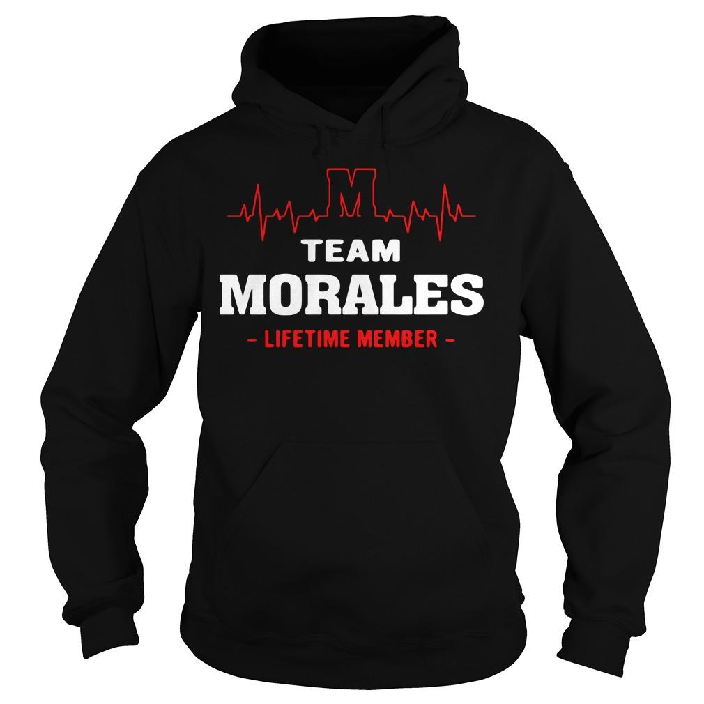 Heartbeat team Morales lifetime member Hoodie