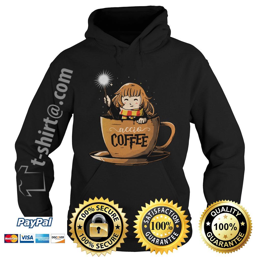 Hermione Harry Potter Accio coffee Hoodie