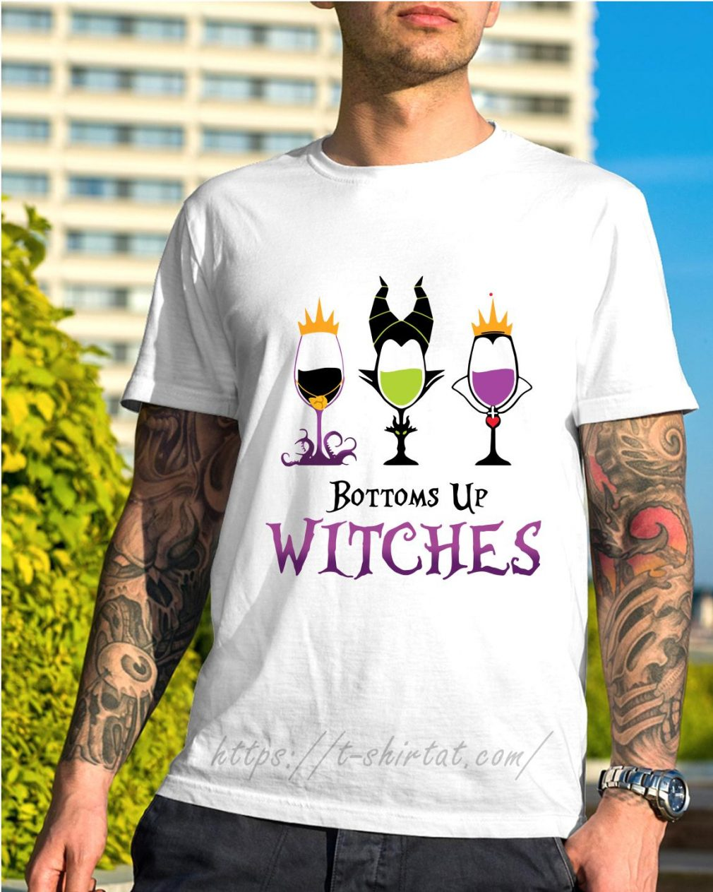 Hocus Pocus bottoms up witches shirt