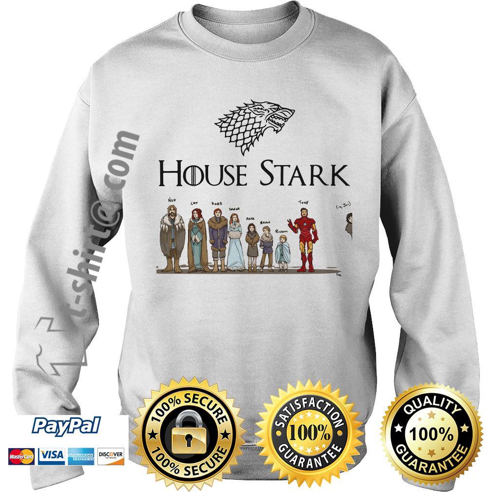 House Tony Stark Iron Man Game of Thrones Sweater