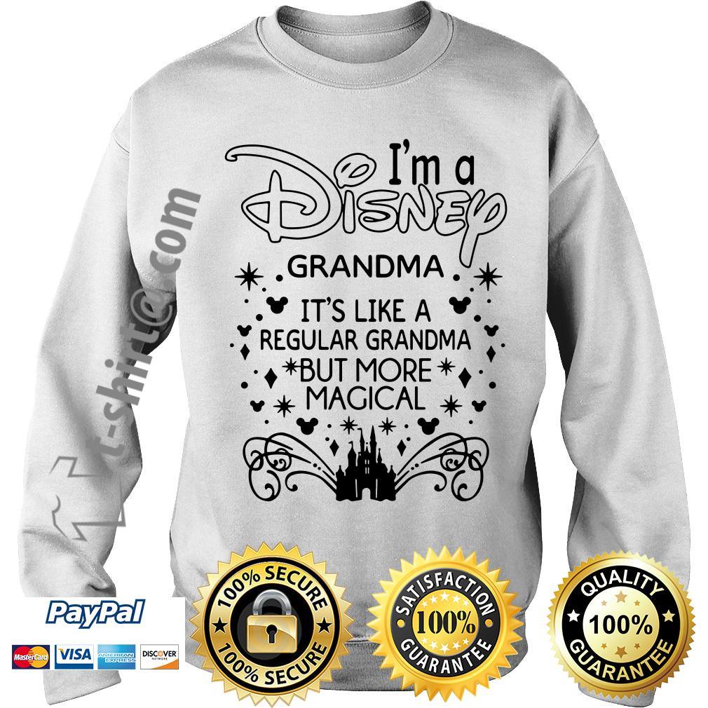 I'm a Disney grandma it's like a regular grandma but more magical Sweater