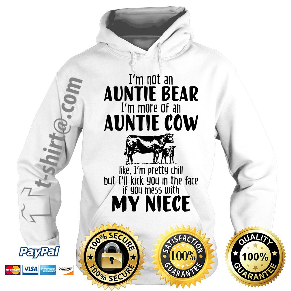 I'm not an auntie bear I'm more of an auntie Hoodie