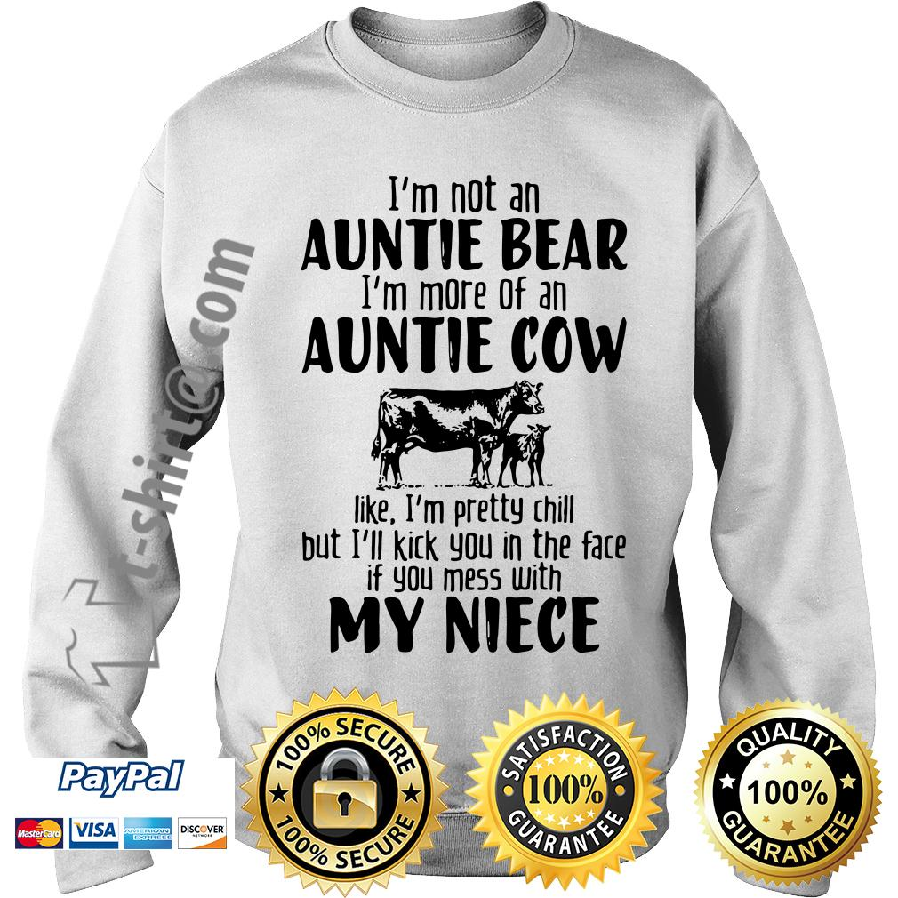 I'm not an auntie bear I'm more of an auntie Sweater