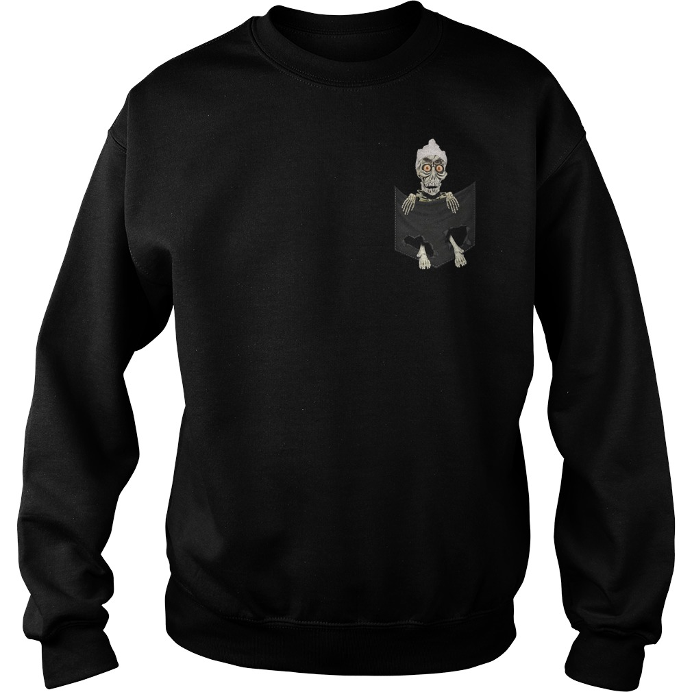 Jack Skellington in a pocket Sweater