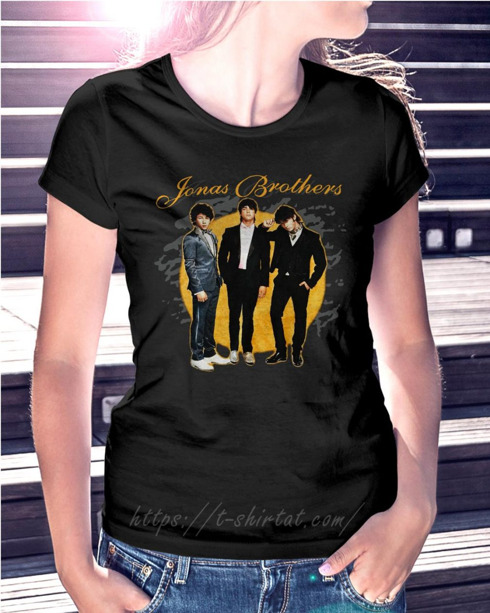 Jonas Brothers concert Ladies Tee