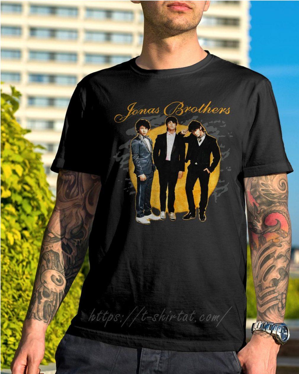 Jonas Brothers concert shirt