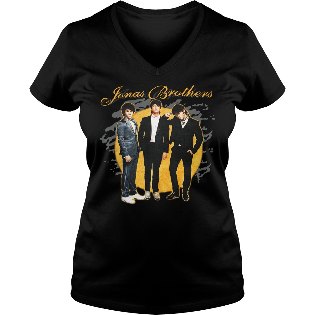 Jonas Brothers concert V-neck T-shirt