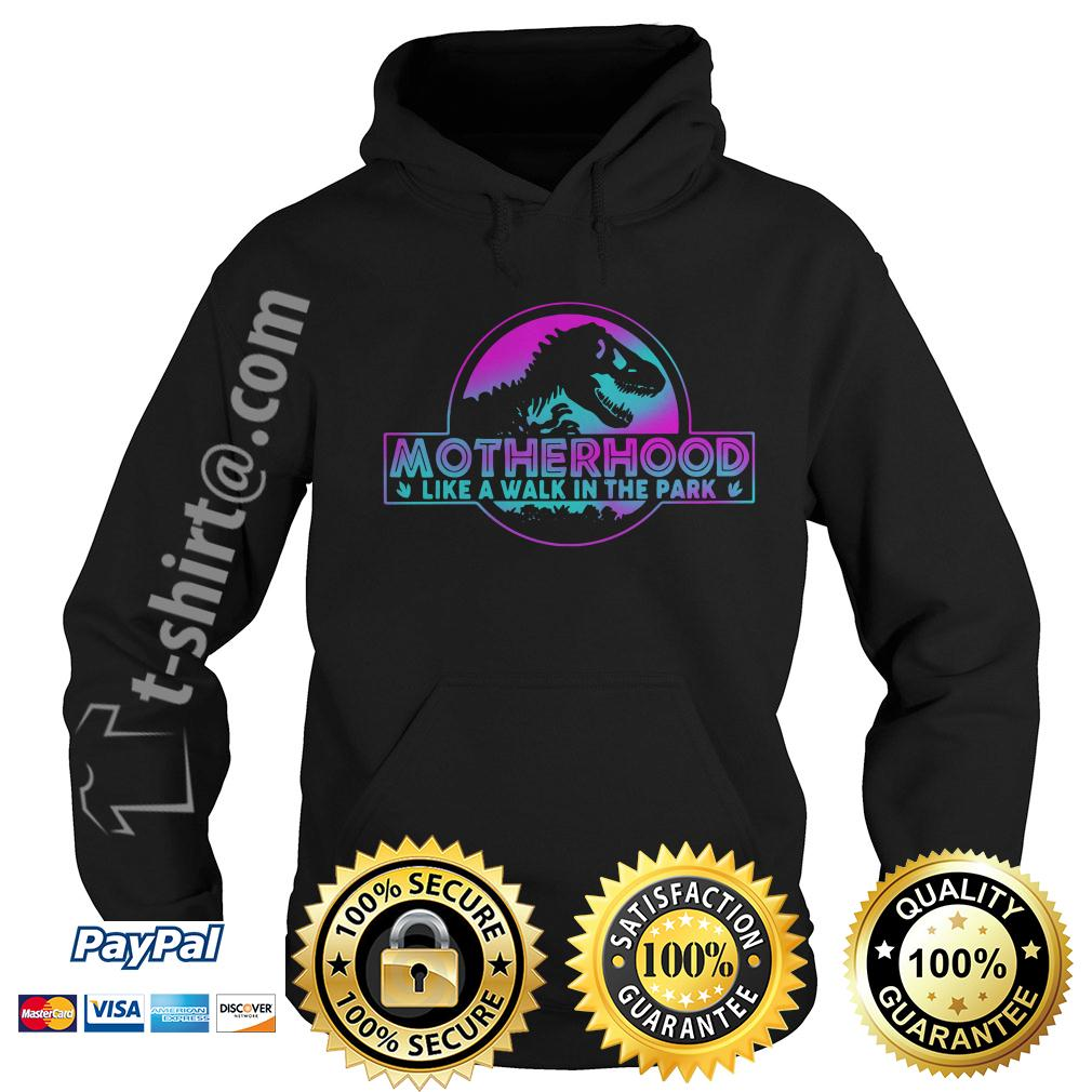 Jurassic park other like a walk in the park Hoodie