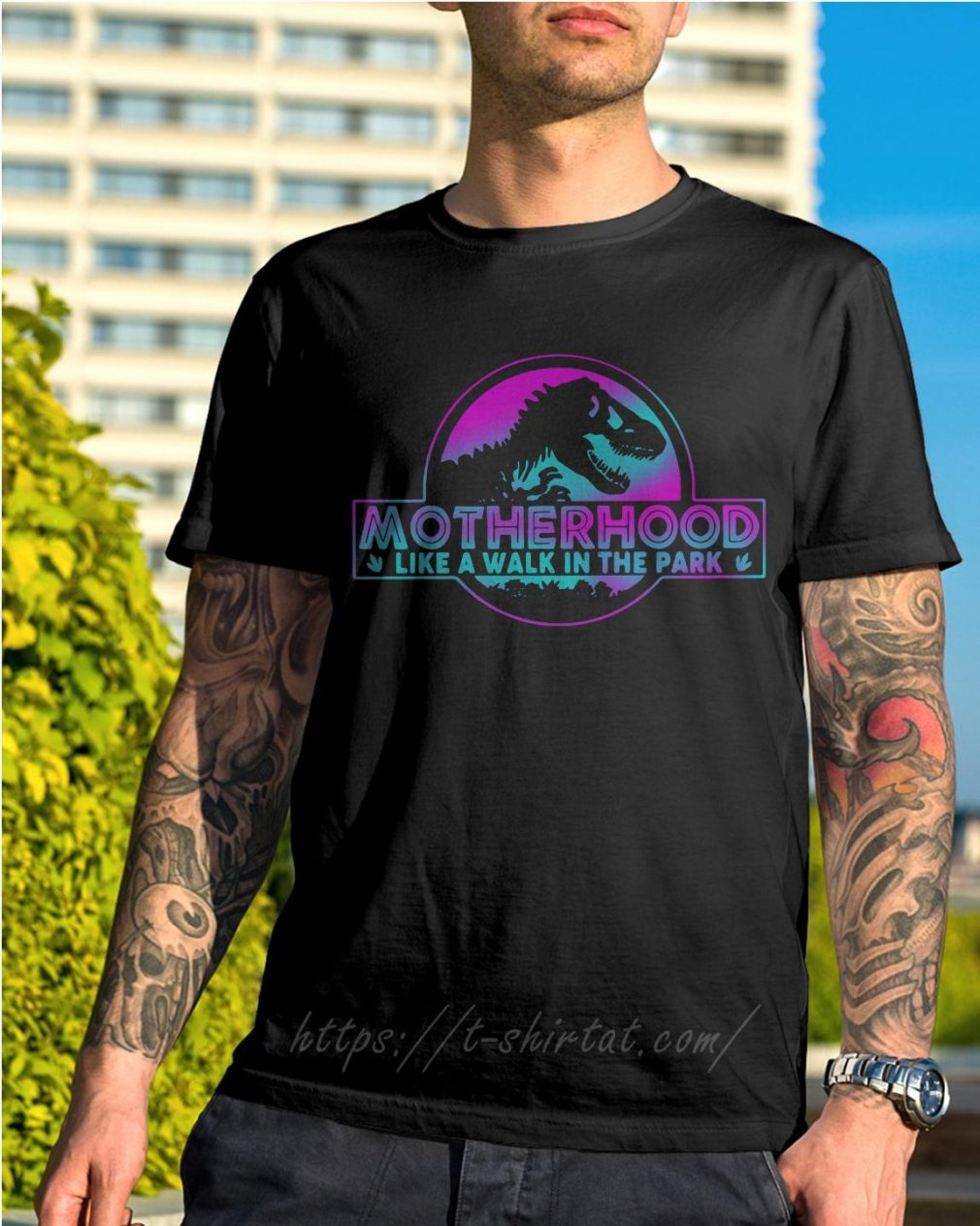 Jurassic park other like a walk in the park shirt
