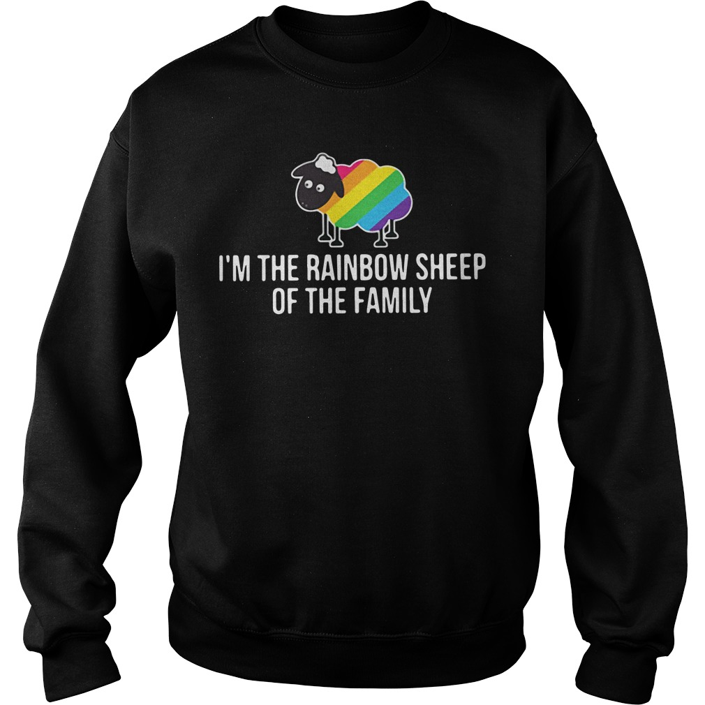 LGBT I'm the rainbow sheep of the family Sweater