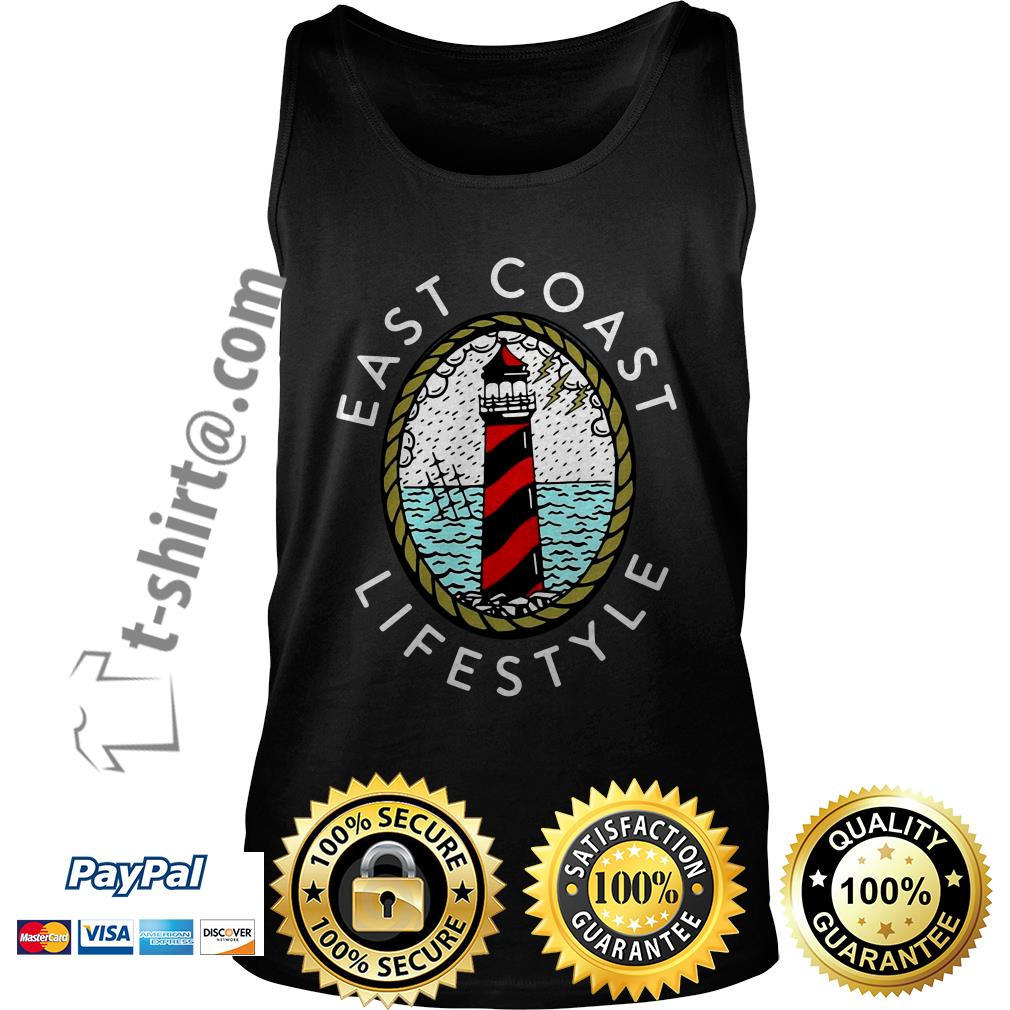 Lighthouse east coast life style Tank top
