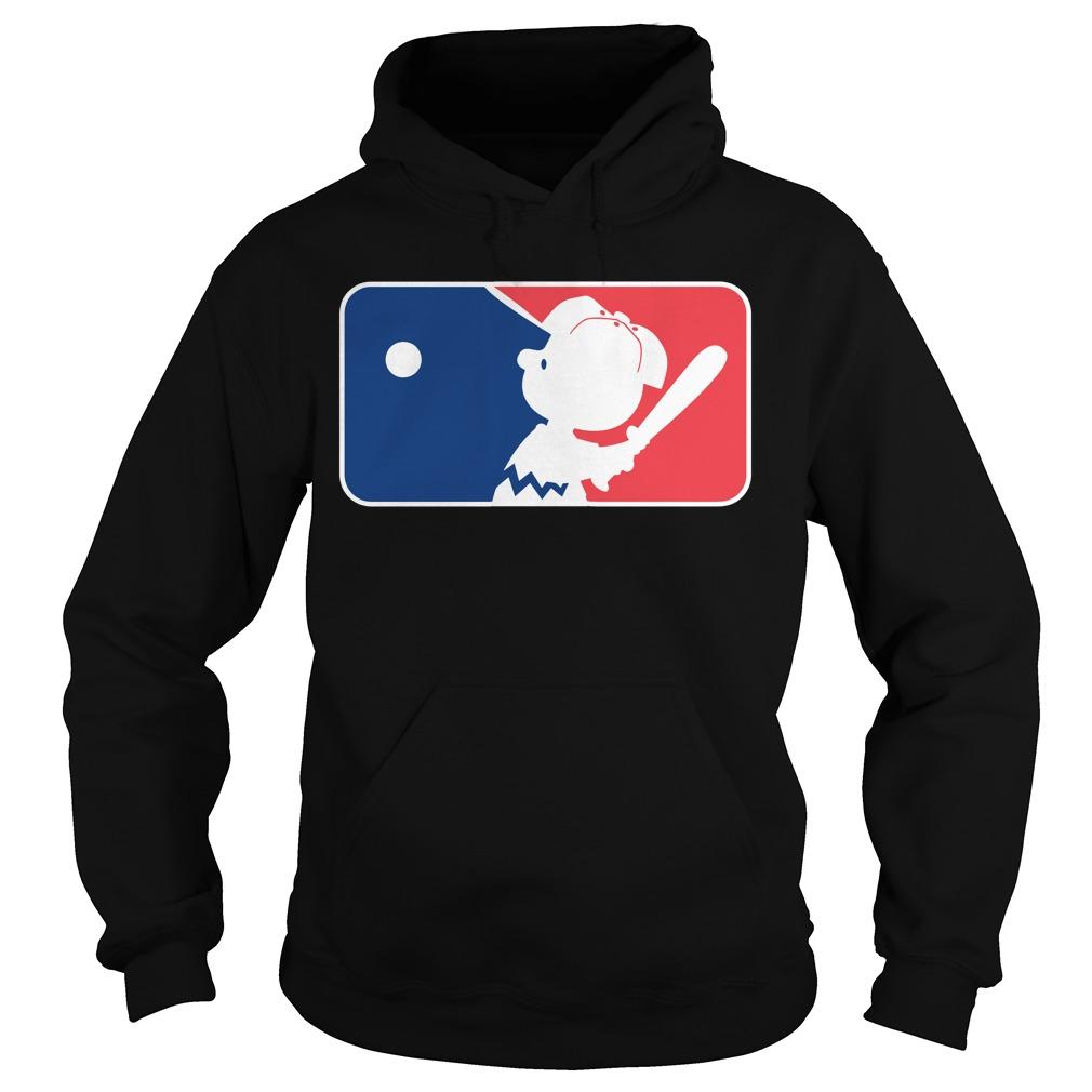 Major league Charlie Brown Hoodie