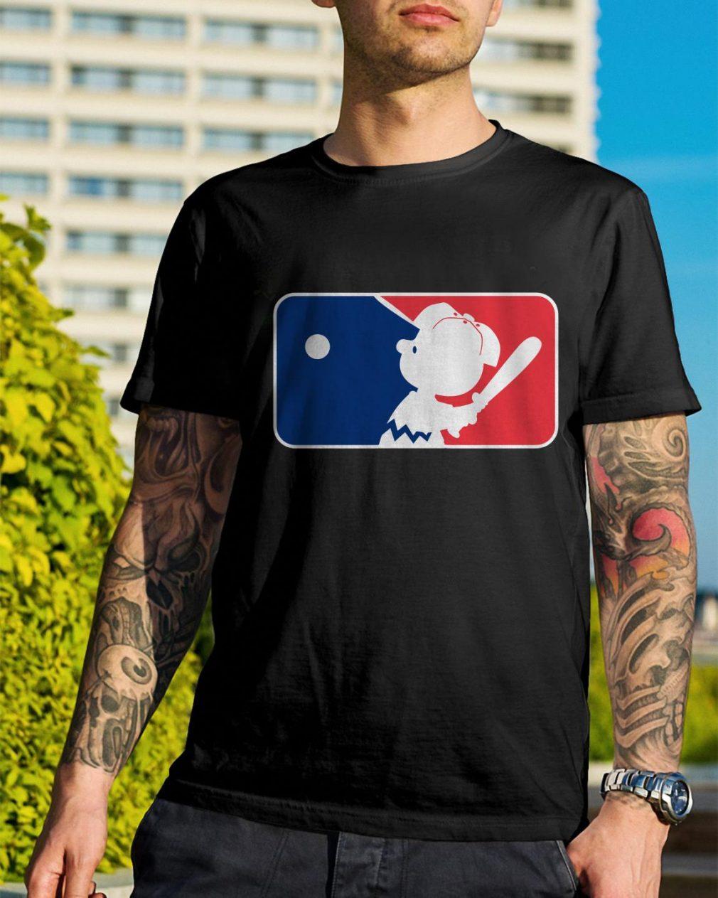 Major league Charlie Brown shirt