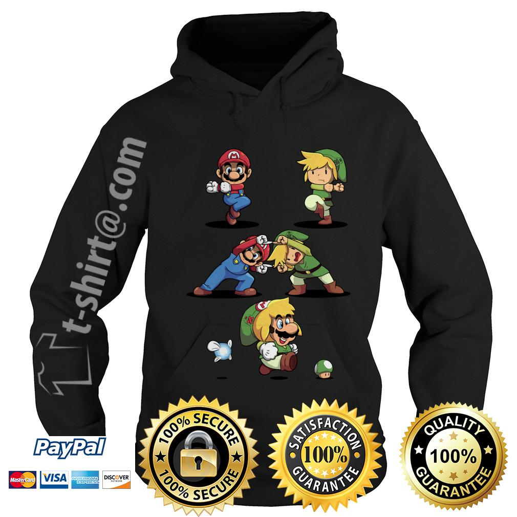 Mario and Toon Link fusion dance Hoodie