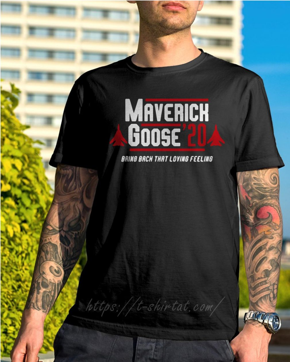 Maverick Goose' 20 bring back that loving feeling shirt