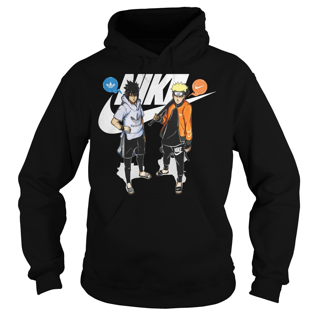 Naruto and Sasuke Nike Adidas Hoodie