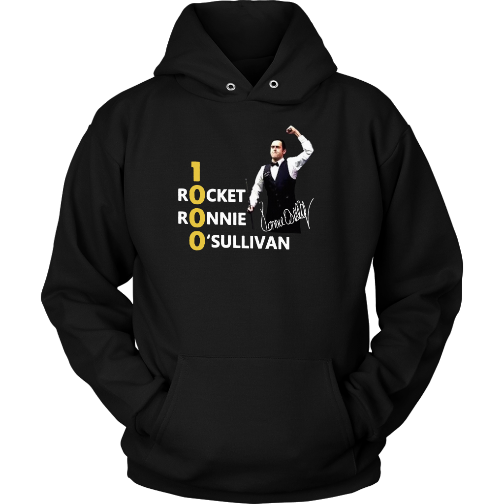 Official 1000 Rocket Ronnie O'Sullivan Hoodie