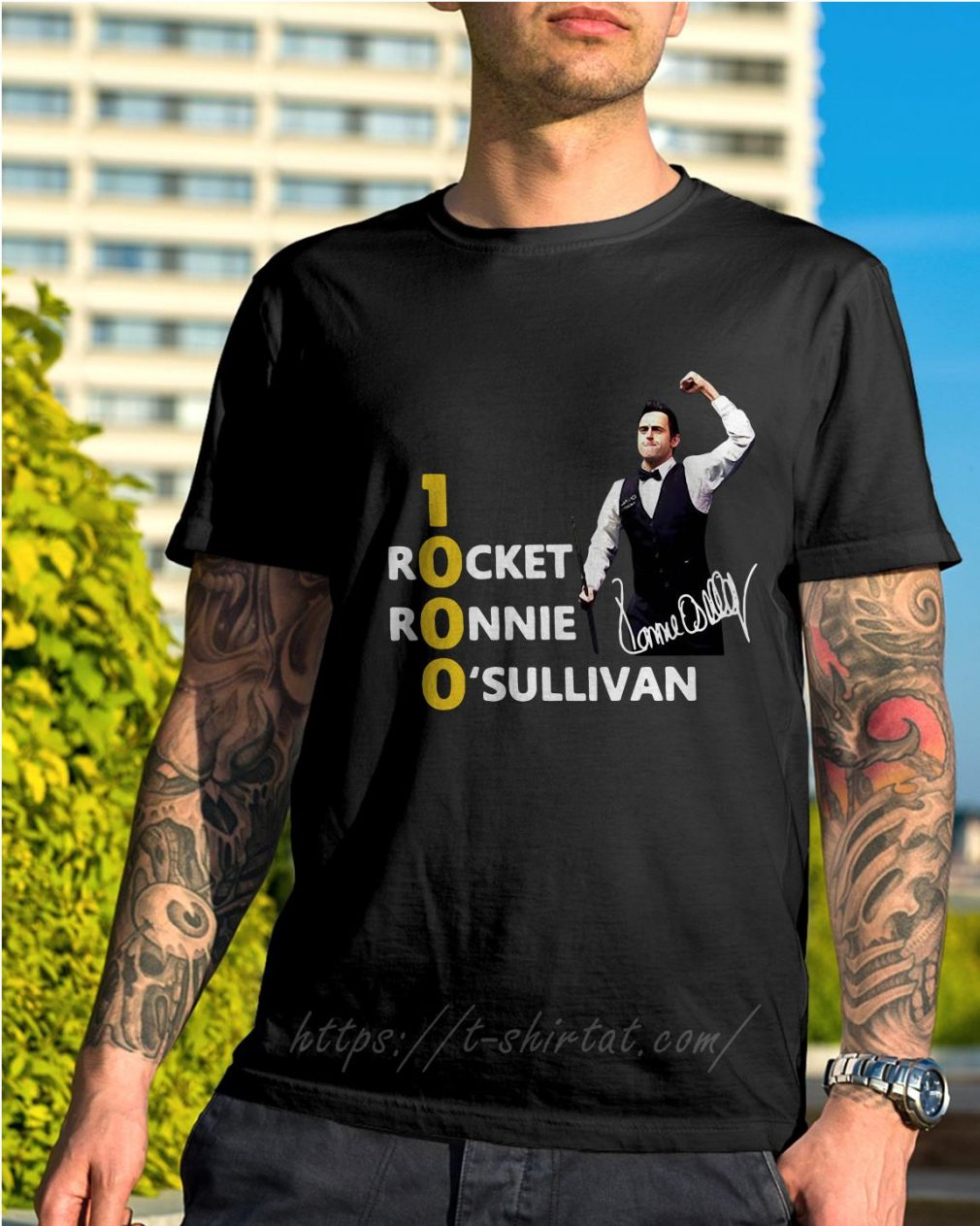Official 1000 Rocket Ronnie O'Sullivan shirt