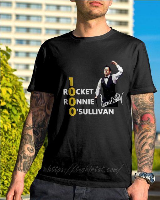 Official 1000 Rocket Ronnie O'Sullivan shirt