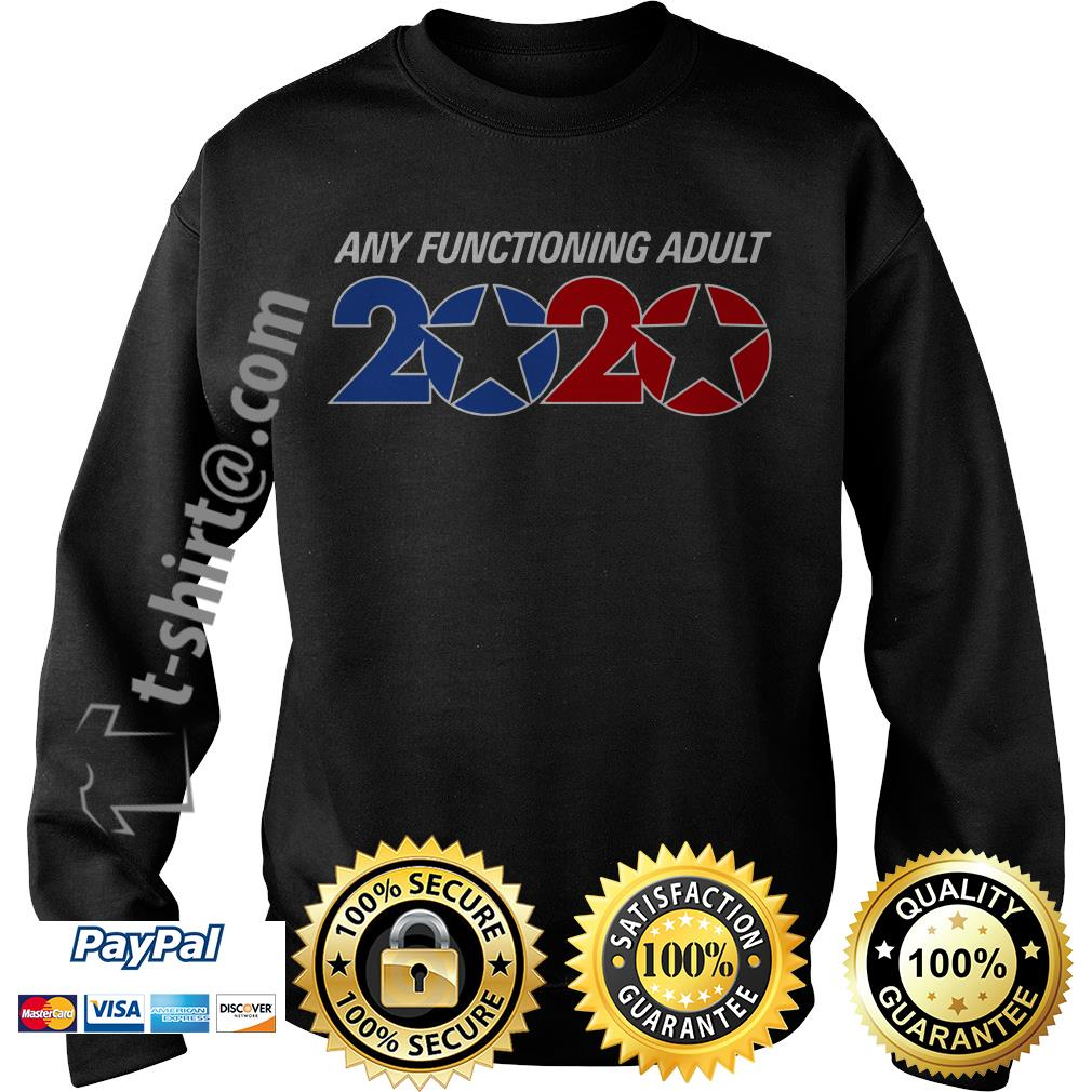 Official George Takei any functioning adult 2020 Sweater