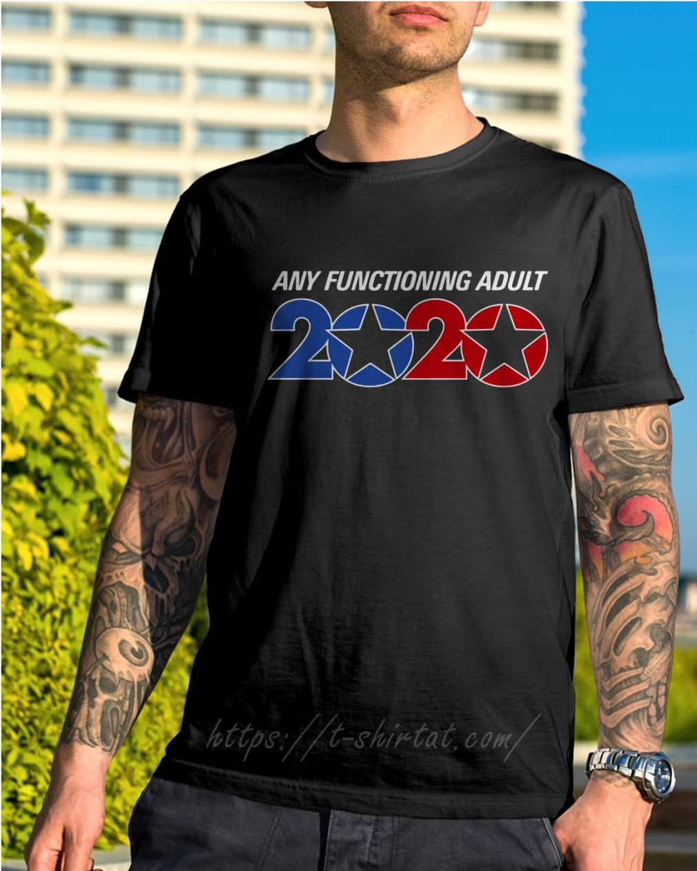 Official George Takei any functioning adult 2020 shirt